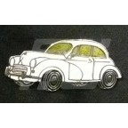 Image for PIN BADGE MINOR SALOON WHITE