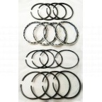 Image for PISTON RING SET +100 XPAG