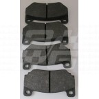 Image for Front brake pads MGF TF Trophy