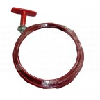 Image for 'T' RED HANDLE PULL CABLE 1.5 METER