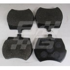 Image for Disc pads (Set of 4) Midget M1166