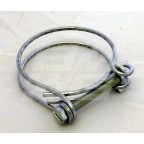 Image for Twin wire hose clip 1 3/8 inch - 1 9/16 inch