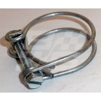 Image for Twin wire hose clip 1 inch- 1 3/8 inch