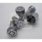 Image for Locking wheel nut kit MG6-MGGS-ZS & ZT/75