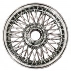 Image for WIRE WHEEL CHROME MGB 4.5J x 14