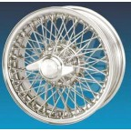 Image for WIRE WHEEL CHROME MGB 5.5J x 14