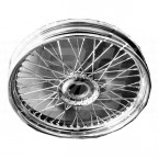 Image for WIRE WHEEL 19 INCH TC CHROME