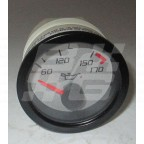 Image for TEMP GAUGE SILVER FACE WITH BULB & HOLDER