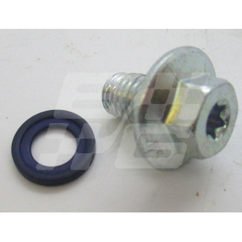 Image for Oil pan drain plug inc washer  MG GS