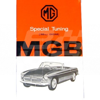 Image for ST BOOK CHROME BUMPER MGB