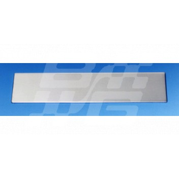 Image for NO.PLATE BACKING FRONT STAINLESS STEEL