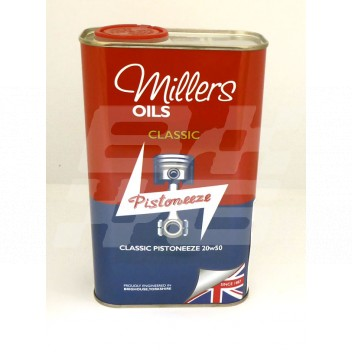 Image for Millers Classic Pistoneeze 20w50 oil - 1 litre