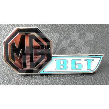Image for PIN BADGE MGB GT FLASH