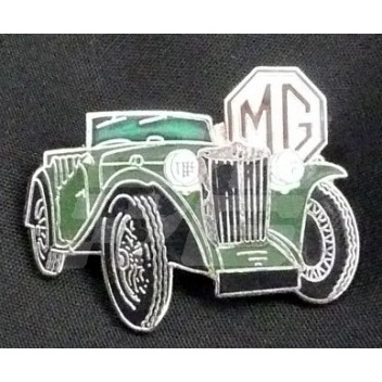 Image for PIN BADGE MG TD GREEN
