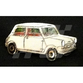 Image for PIN BADGE MINI SALOON GREY