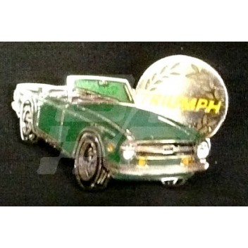 Image for PIN BADGE TR6 GREEN