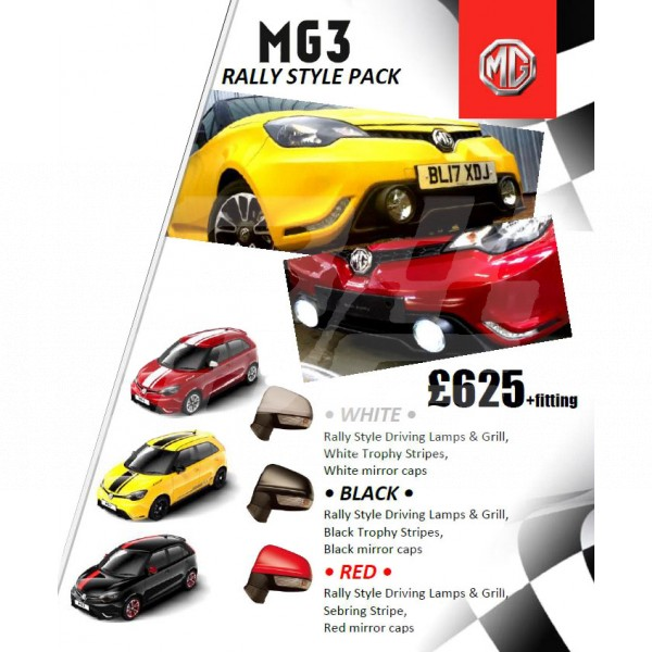 Rally Pack Black - MG3