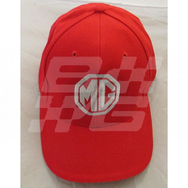 Image for MG Baseball Cap RED