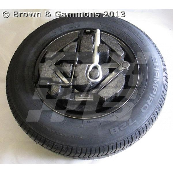 Image for Spare Wheel Kit MG3