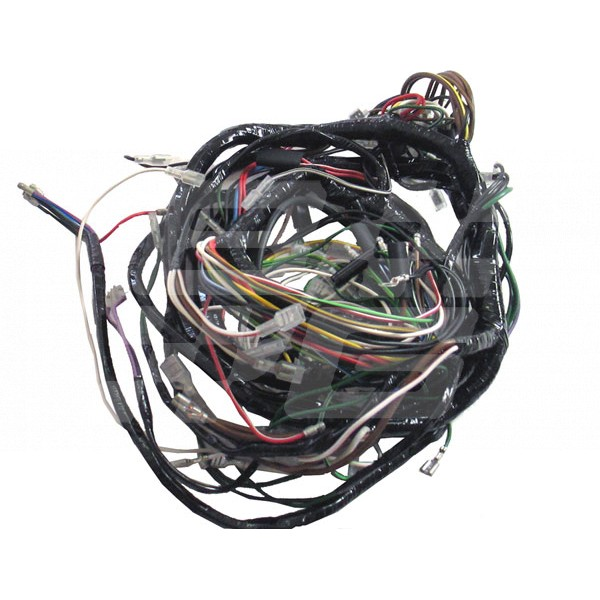 1976 mgb wiring schematic main harness mgb 1976-77 410002-437180 - brown and gammons