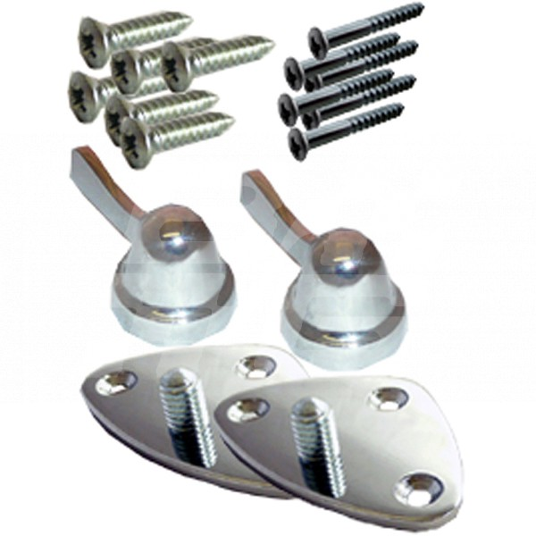 Image for SIDE SCREEN CLAMPING KIT T & A