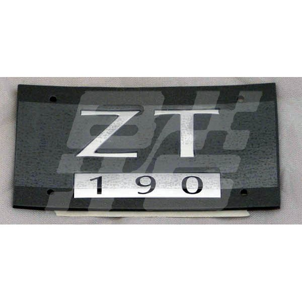 Mx5 Parts Catalogue >> ZT 190 BADGE SATIN SILVER >321637 - Brown and Gammons