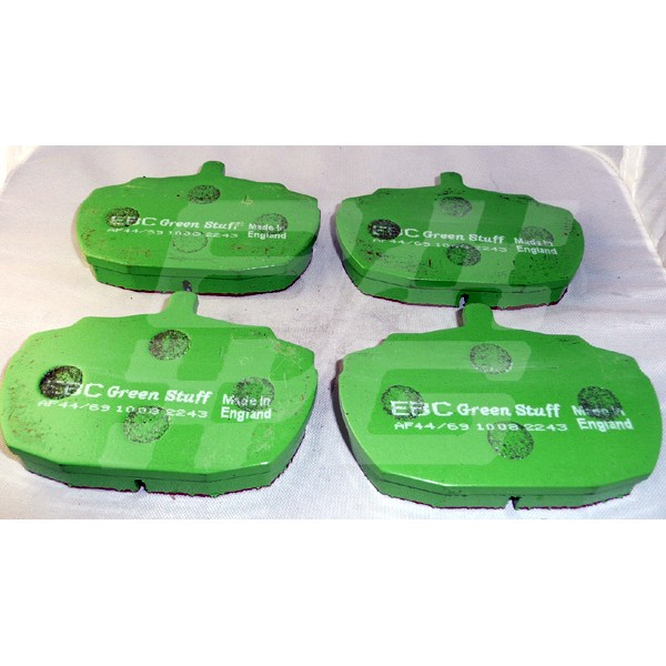 Image for RV8 EBC GREEN PADS NO PIN/CLIP