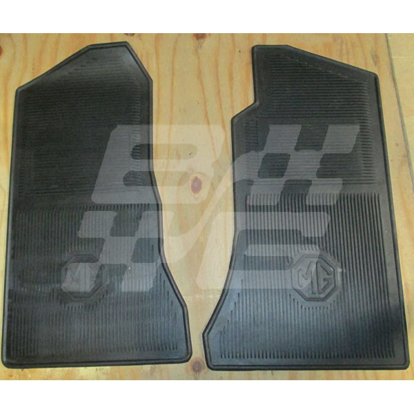 Floor Mats Mk11 Mgb Brown And Gammons