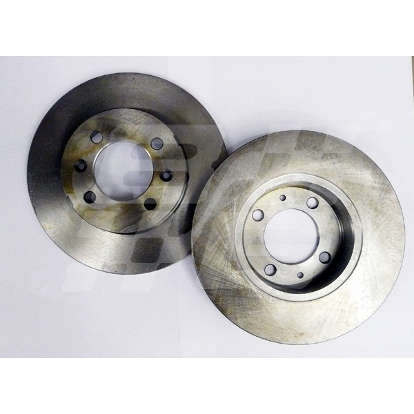 Image for BRAKE DISC REAR MGF/TF STD PAIR