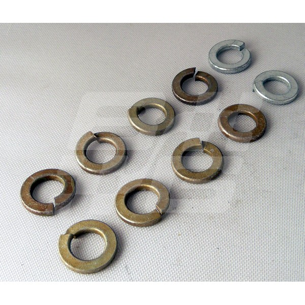 SPRING WASHER 3/8 INCH (PACK 10)