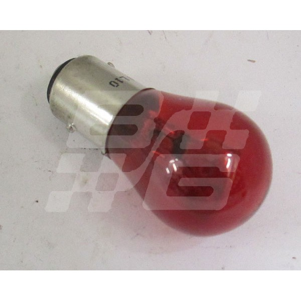 Image for RED BULB 21/5W 12V OFFSET PIN