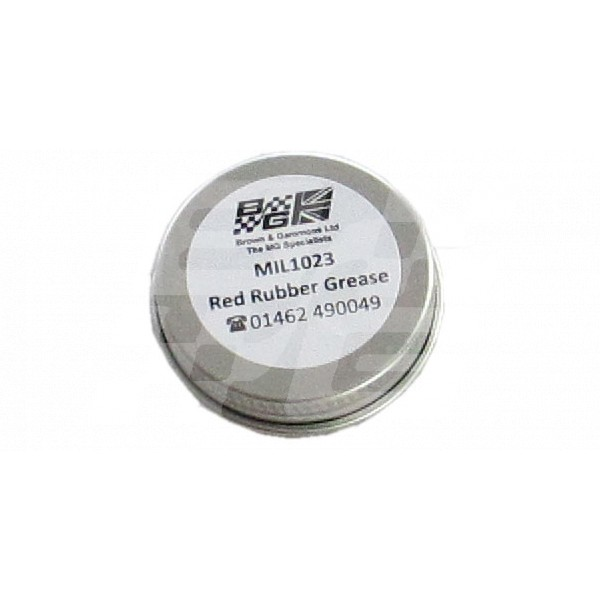 Image for Red Rubber Grease in 15 gram Tin