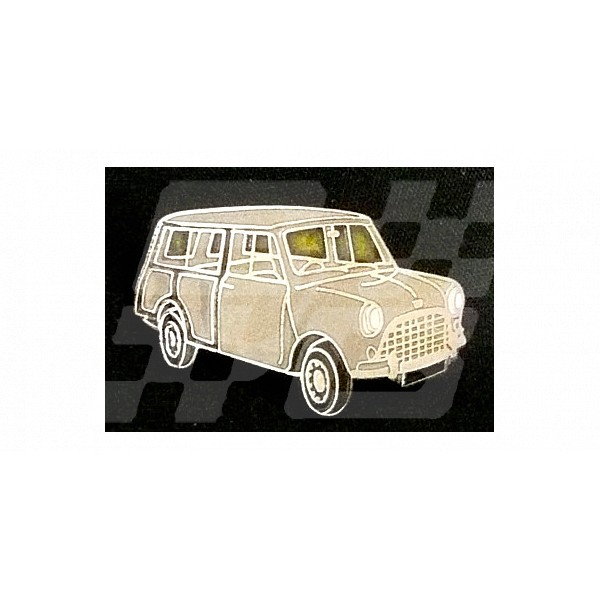 Image for PIN BADGE MINI COUNTRYMAN GRY