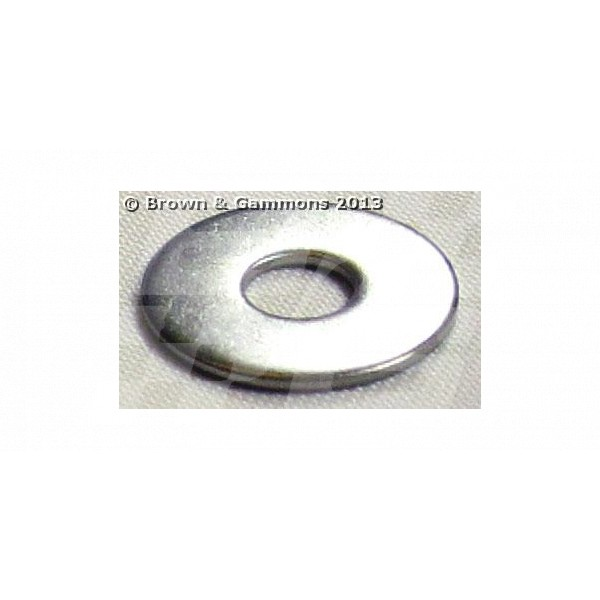 Image for WASHER S/STEEL PLAIN 5/16 INCH x 1 INCH OD