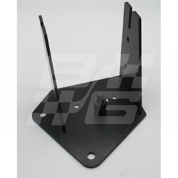 Image for ABS mount bracket Stainless steel finished in Black