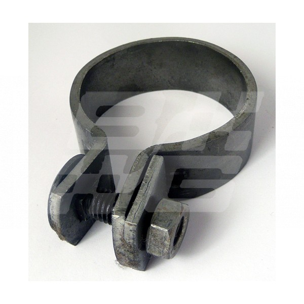 Inch band clamps exhaust brown and gammons